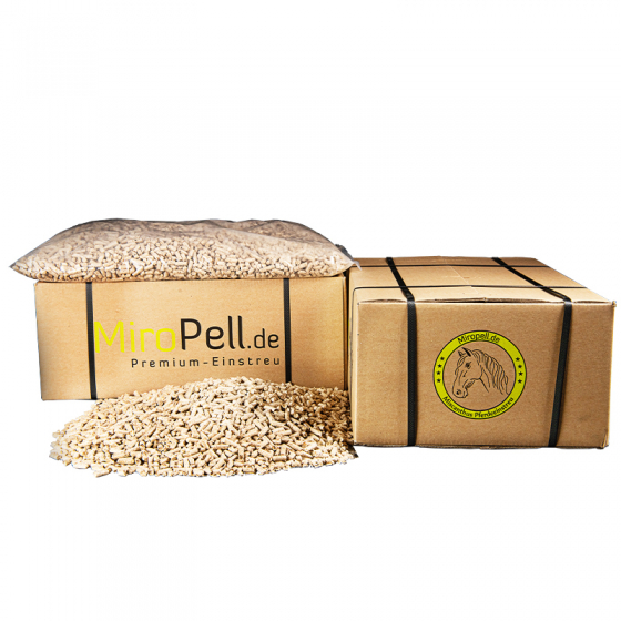 Miscanthus Pellets 1 Paket